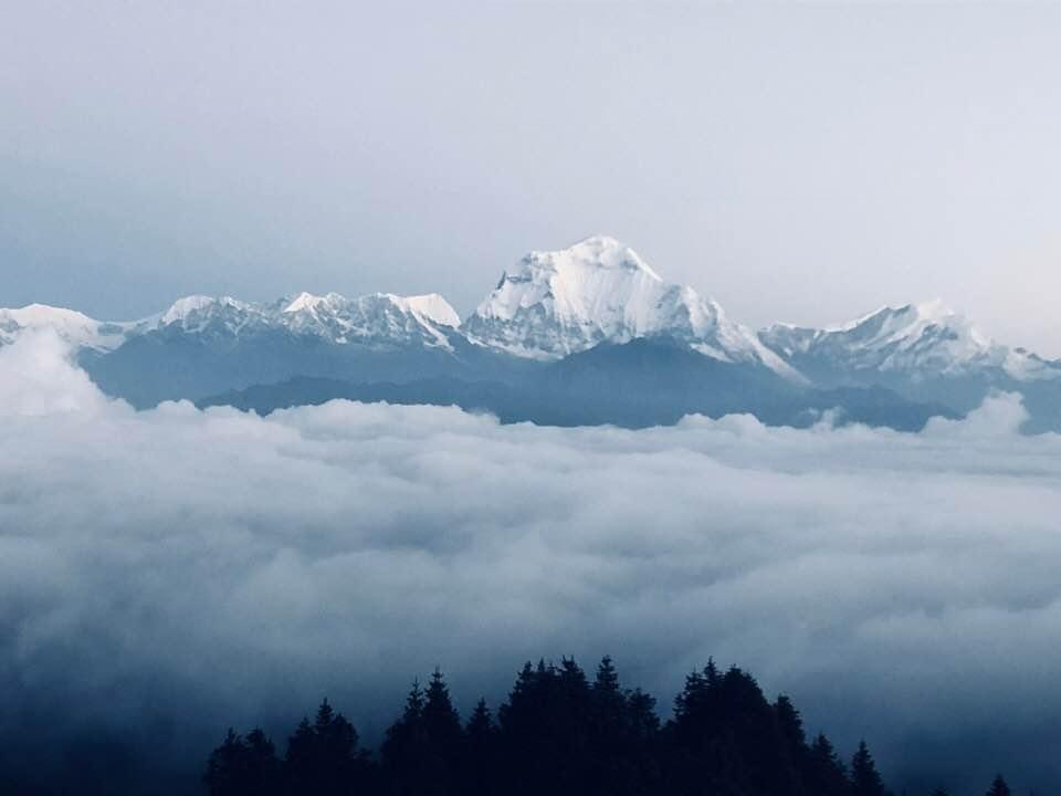 Charity Trek Mountains through Clouds