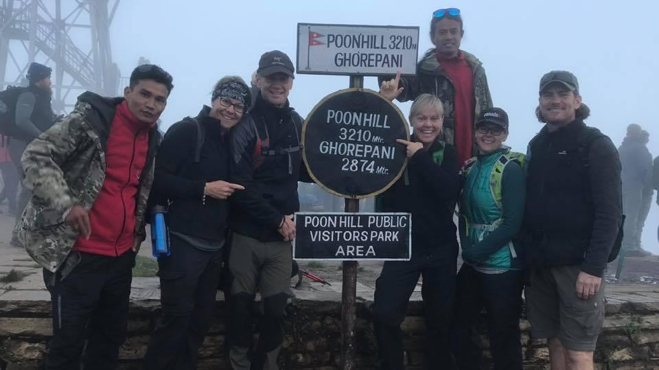 Charity Trek Poon Hill 2