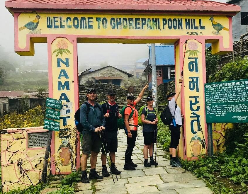 Charity Trek Poon Hill